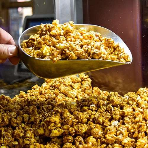 Locally made popcorn